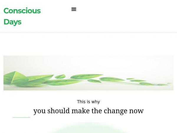 consciousdays.com