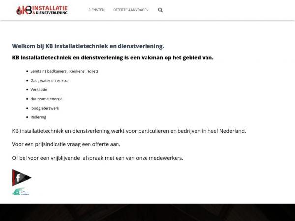 kbinstallatietechniek.nl