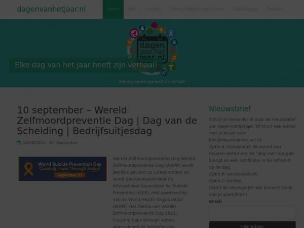 dagenvanhetjaar.nl
